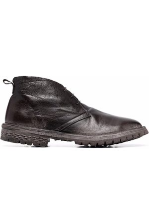 Moma Lace-up leather ankle boots