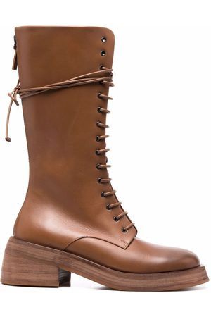 MARSÈLL Damen Stiefel - Knee-length leather boots