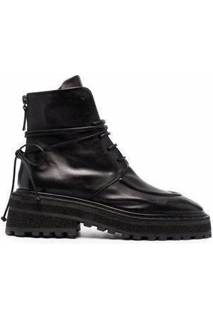 MARSÈLL Damen Stiefel - Carro ridged-sole leather boots