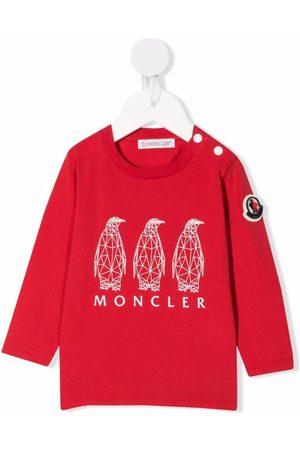 Moncler Graphic-print cotton sweatshirt