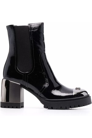 Casadei New Cult patent-leather boots