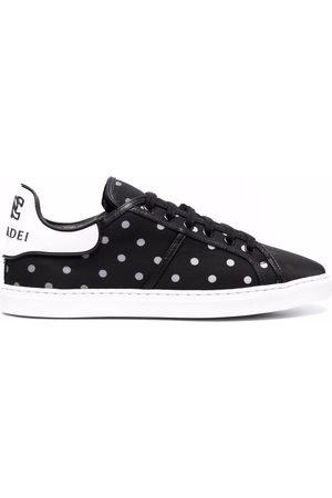 Casadei C Way polka-dot print sneakers