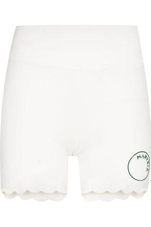 Marysia Damen Kurze Hosen - Billie Jean scalloped running shorts