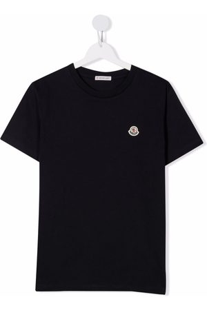 Moncler Jungen Shirts - Jersey crewneck T-shirt
