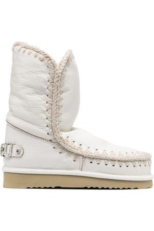 Mou Damen Snowboots - Embellished logo snow boots