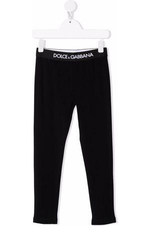 Dolce & Gabbana Mädchen Leggings & Treggings - Logo band leggings