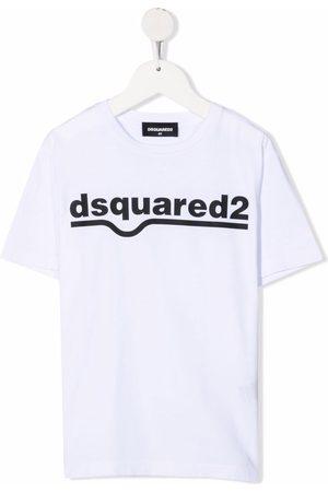 Dsquared2 Jungen Shirts - Logo crew-neck T-shirt