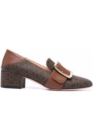 Bally Damen Halbschuhe - MJanelle monogram buckle loafers