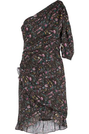 Isabel Marant, Étoile One-Shoulder-Minikleid Esthera aus Baumwolle