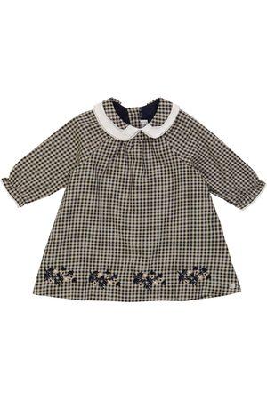 Tartine Et Chocolat Baby Kariertes Kleid aus Baumwolle