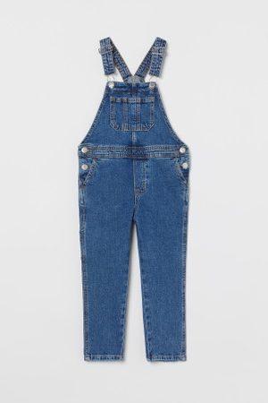 H&M Kinder Jeans - Latzhose aus Denim