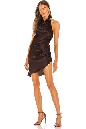 Amanda Uprichard Damen Kleider - Samba Dress in - Chocolate. Size L (also in XS, S, M).