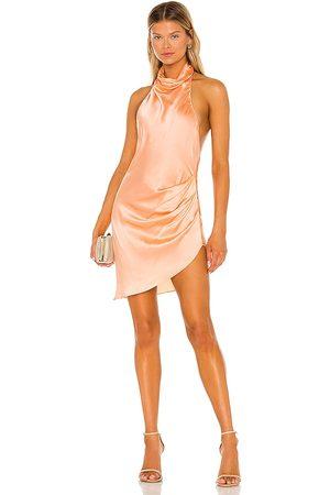 Amanda Uprichard X REVOLVE Samba Dress in - Peach. Size L (also in XS, S, M).