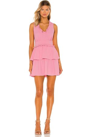 Amanda Uprichard Moneta Dress in - Pink. Size L (also in XS, S, M).