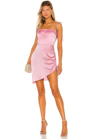 Amanda Uprichard X REVOLVE Chiara Dress in - Pink. Size L (also in XS, S, M).