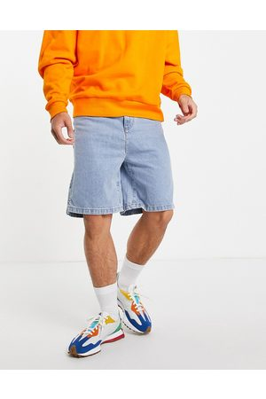 COLLUSION Extreme 90s baggy shorts in blue