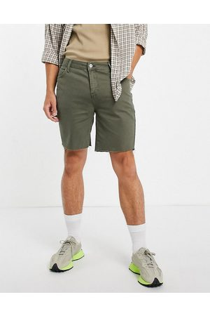 Collusion 90s vintage shorts in washed green
