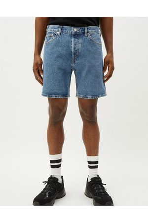 Weekday Vacant shorts in harper blue
