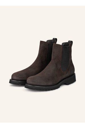 WOOLRICH Chelsea-Boots braun