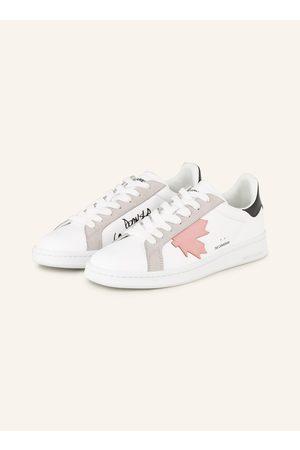 Dsquared2 Damen Sneakers - Sneaker weiss