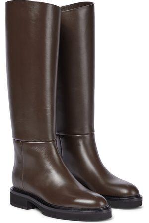 Khaite Damen Stiefel - Stiefel Derby aus Leder