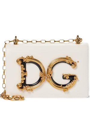 Dolce & Gabbana Schultertasche DG Girls aus Leder