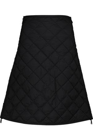 Moncler Damen Miniröcke - Gesteppter High-Rise-Minirock