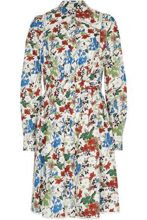 Erdem Damen Bedruckte Kleider - Bedrucktes Minikleid aus Baumwollpopeline