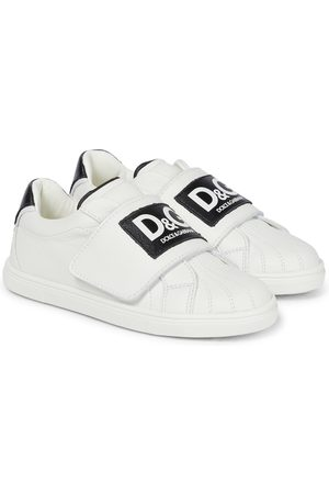 Dolce & Gabbana Sneakers aus Leder mit Logo