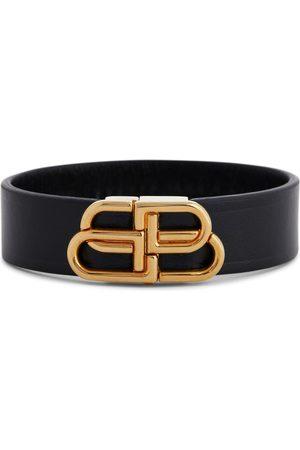 Balenciaga Damen Armbänder - Armband BB aus Leder