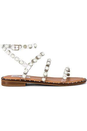 Steve Madden Travel-P Sandal in - Tan. Size 10 (also in 6, 6.5, 7, 7.5, 8, 8.5, 9, 9.5).