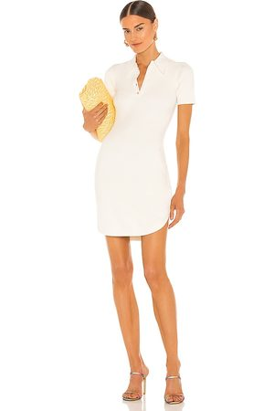 JoosTricot Polo Dress in - White. Size L (also in M, S, XS).