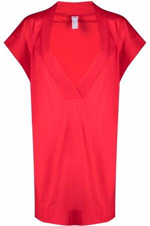 ERES Reneé V-neck cotton mini dress