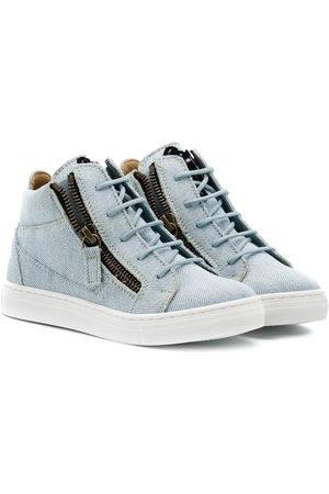 Giuseppe Zanotti Jungen Schnürschuhe - Ankle lace-up sneakers