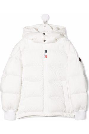 Moncler Contrast-hood Hale padded jacket