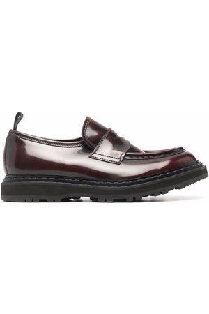 Officine creative Damen Halbschuhe - Lydona polished-leather loafers