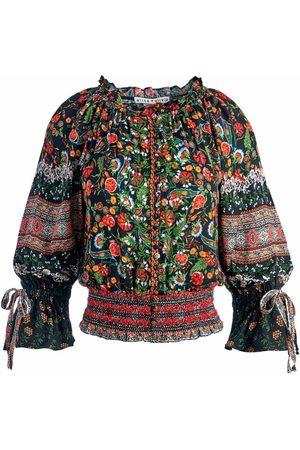 ALICE+OLIVIA Damen Tops & Shirts - Kora floral-print smock top