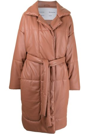 PROENZA SCHOULER WHITE LABEL Belted padded coat