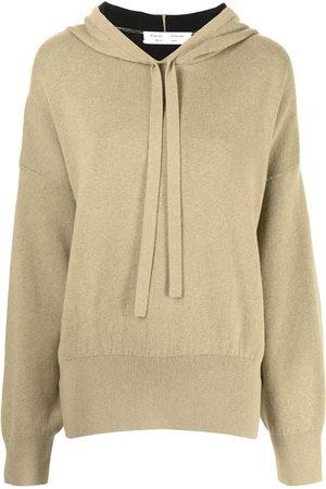 PROENZA SCHOULER WHITE LABEL Side-slit hoodie