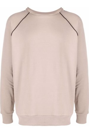 Alchemy Sweatshirts - Contrasting stripe detail sweatshirt