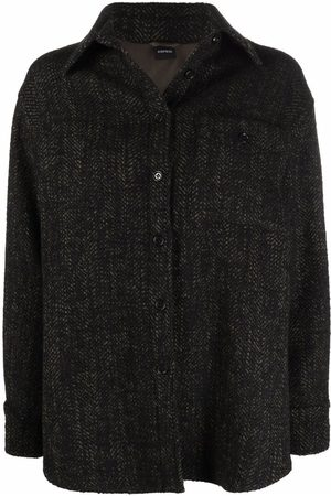 Aspesi Damen Jacken - Tweed shirt jacket
