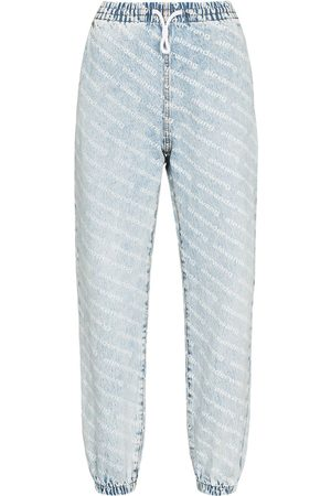 Alexander Wang Wide leg jean jogging trousers