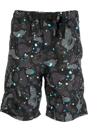 A Bathing Ape Camouflage-print bermuda shorts