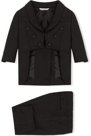 Dolce & Gabbana Virgin wool-blend suit-style tracksuit
