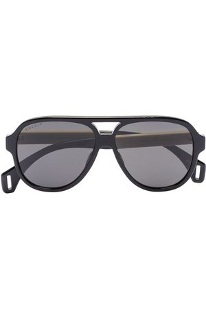 Gucci Herren Sonnenbrillen - Aviator-frame sunglasses