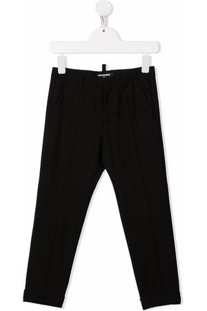 Dsquared2 Kids Jungen Hosen & Jeans - Rear logo-print trousers