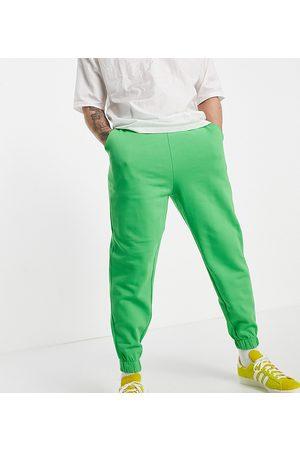 ASOS Organic oversized joggers in green