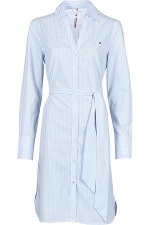 Tommy Hilfiger Kleid MONICA KNEE SHIRT DRESS LS damen