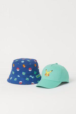 H&M Cap und Sonnenhut mit Druck