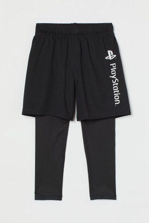 H&M Sporttights mit Shorts